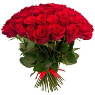 Bouquet of 45 red roses - flowers and bouquets on flora.od.ua
