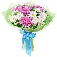 Bouquet of 7 chrysanthemums - flowers and bouquets on flora.od.ua