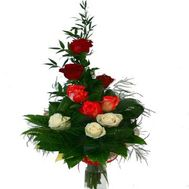 Bouquet of 9 roses - flowers and bouquets on flora.od.ua