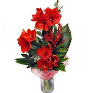 """Bouquet from amaryllis"" in the online flower shop flora.od.ua"