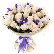 Bouquet of roses and gerberas - flowers and bouquets on flora.od.ua