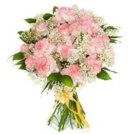 """Bouquet of roses and gerberas decorated verdure"" in the online flower shop flora.od.ua"