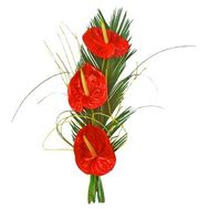 """Bouquet from anthurium"" in the online flower shop flora.od.ua"