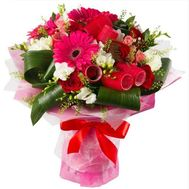 Bouquet with curlers - flowers and bouquets on flora.od.ua