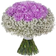 """Bouquet with carnations"" in the online flower shop flora.od.ua"
