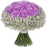 Букет с гвоздиками - цветы и букеты на flora.od.ua