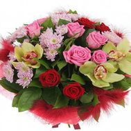 Bouquet with orchids - flowers and bouquets on flora.od.ua