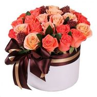 Bouquet in a box for a man - flowers and bouquets on flora.od.ua
