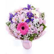 Bouquet with irises - flowers and bouquets on flora.od.ua