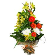 Cascade bouquet to the man - flowers and bouquets on flora.od.ua