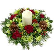 """Composition for Christmas"" in the online flower shop flora.od.ua"