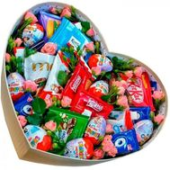 Box with chocolate - flowers and bouquets on flora.od.ua