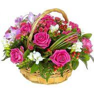 Корзина цветов - цветы и букеты на flora.od.ua