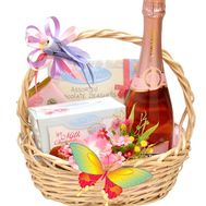 Basket of sweets gift - flowers and bouquets on flora.od.ua