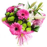 """Beautiful bouquet with a birthday"" in the online flower shop flora.od.ua"