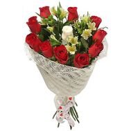 Creative bouquet of fresh flowers - flowers and bouquets on flora.od.ua