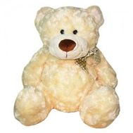 Soft toy White bear - flowers and bouquets on flora.od.ua