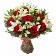 An unusual bouquet of flowers - flowers and bouquets on flora.od.ua
