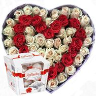 Delicate bouquet of flowers in a box - flowers and bouquets on flora.od.ua