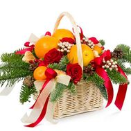 """New Years gift"" in the online flower shop flora.od.ua"