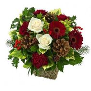 New Years composition - flowers and bouquets on flora.od.ua