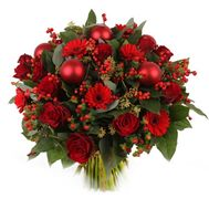 """Christmas bouquet"" in the online flower shop flora.od.ua"