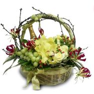 Happy New Year - flowers and bouquets on flora.od.ua