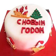 New Year Cake - flowers and bouquets on flora.od.ua