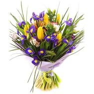 """""""Spring bouquet of mixes"""" in the online flower shop flora.od.ua"""