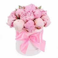 15 peonies in a box - flowers and bouquets on flora.od.ua