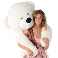 White bear 2 m - flowers and bouquets on flora.od.ua