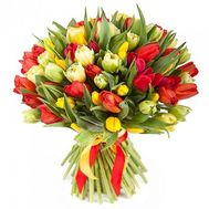 """Bouquet 101 tulip"" in the online flower shop flora.od.ua"