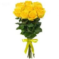 Bouquet of 11 yellow roses - flowers and bouquets on flora.od.ua