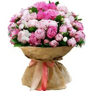 """Bouquet 51 peonies"" in the online flower shop flora.od.ua"