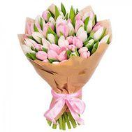 Букет 51 тюльпан - цветы и букеты на flora.od.ua