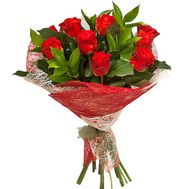 Bouquet of 11 roses El Toro - flowers and bouquets on flora.od.ua