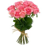 Bouquet of 11 pink roses - flowers and bouquets on flora.od.ua