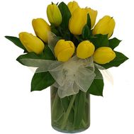 """Bouquet of 11 Tulips"" in the online flower shop flora.od.ua"