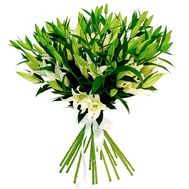 Bouquet of 17 lilies - flowers and bouquets on flora.od.ua