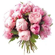 """Bouquet of 25 pink peonies"" in the online flower shop flora.od.ua"