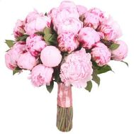 Bouquet of 35 pink peonies - flowers and bouquets on flora.od.ua
