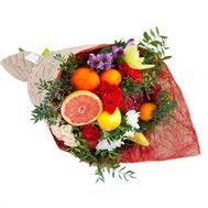 Bouquet from fruit with pomegranate - flowers and bouquets on flora.od.ua