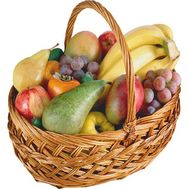 Fruit basket for a gift - flowers and bouquets on flora.od.ua