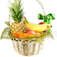 Fruit gift basket - flowers and bouquets on flora.od.ua