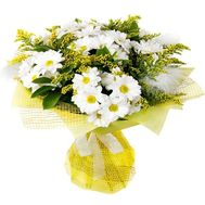 """Chrysanthemum and mimosa"" in the online flower shop flora.od.ua"