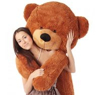 Brown bear 2 m - flowers and bouquets on flora.od.ua