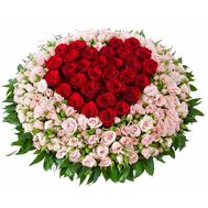 Basket of 131 roses - flowers and bouquets on flora.od.ua
