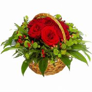 Flower basket - flowers and bouquets on flora.od.ua