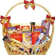Chocolate basket - flowers and bouquets on flora.od.ua