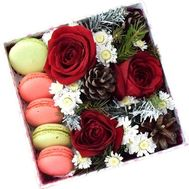 New Year sweets - flowers and bouquets on flora.od.ua